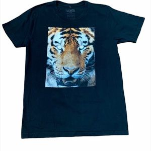 Aritzia La Notte Black Tiger 100% Cotton T-Shirt